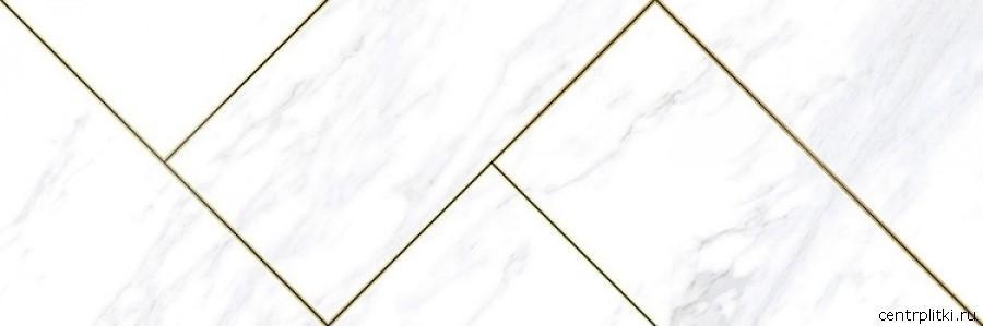 Bolsena Adamantino Decor Blanco 30x90 декор