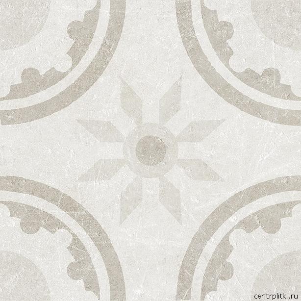 Materia Decor Rim White 20x20 пол