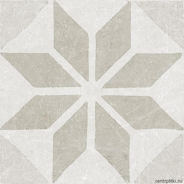 Materia Decor Star White 20x20 пол
