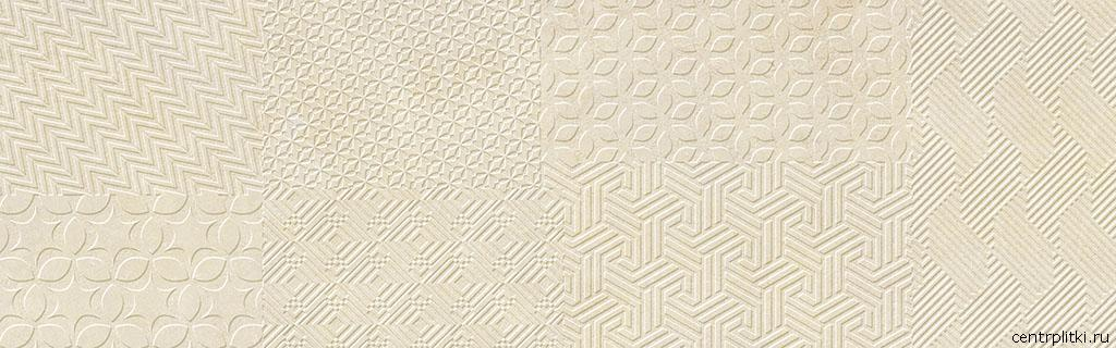 Materia Textile Ivory 25x80 стена