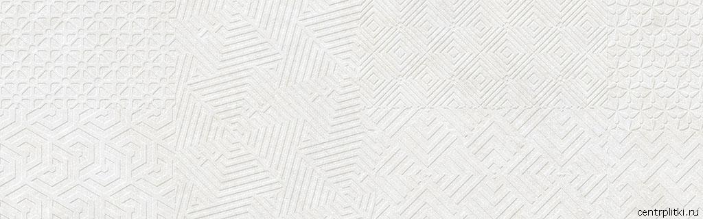 Materia Textile White 25x80 стена