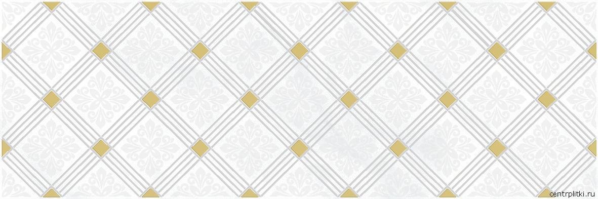 Royal Декор белый 20x60