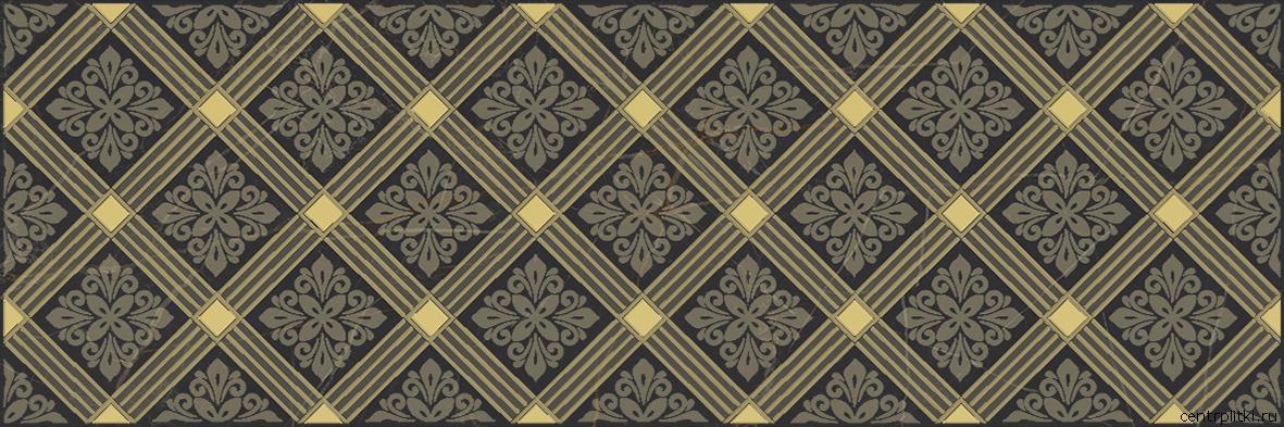 Royal Декор чёрный 20x60