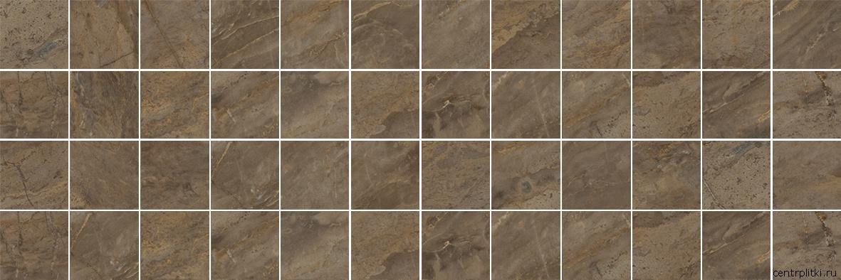 Royal Декор мозаичный коричневый MM60072 20x60