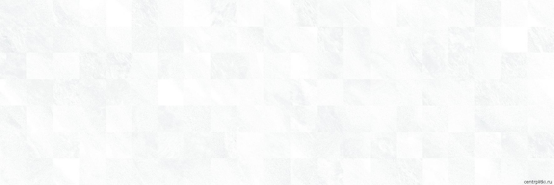 Royal Плитка настенная белый мозаика 60051 20x60