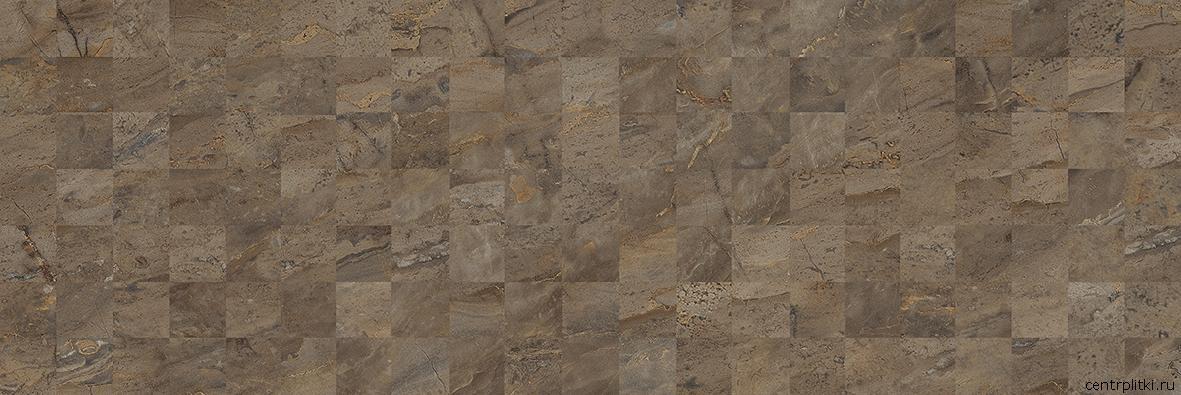 Royal Плитка настенная коричневый мозаика 60054 20x60