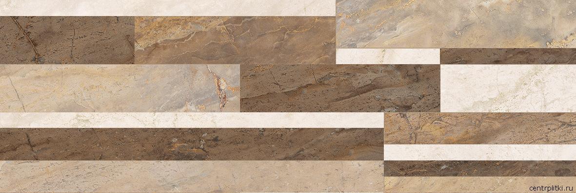 Royal Плитка настенная микс бежевый 60087 20x60
