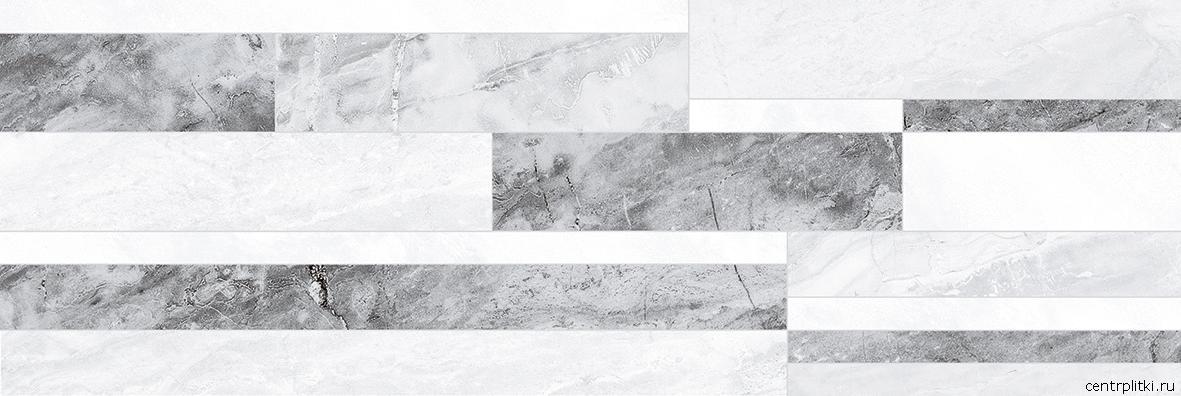 Royal Плитка настенная микс серый 60086 20x60
