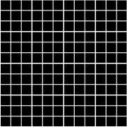 Темари черный матовый мозаика 20071  29,8x29,8