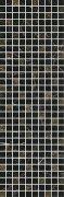 Астория Декор черный мозаичный MM12111 25x75