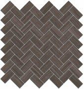 Грасси Декор коричневый мозаичный 190\\003 31,5x30