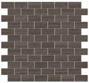 Грасси Декор коричневый мозаичный MM13040 32x30