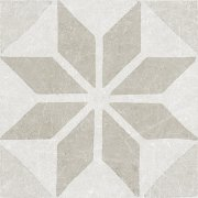 Materia Decor Star White 20x20 пол