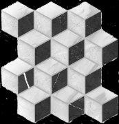 Royal Stone Вставка мозаика многоцветный (A-RS2L451\\G) 28x27