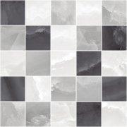Prime Декор мозаичный серый микс MM34040 25x25