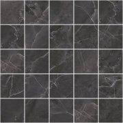 Olimpus Декор мозаичный чёрный MM34038 25x25