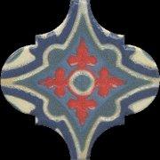 Арабески Майолика Декор орнамент OS\\A29\\65000 6,5x6,5
