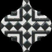 Арабески Декор глянцевый орнамент OS\\A25\\65000 6,5x6,5