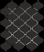 Арабески глянцевый черный 65001 26x30