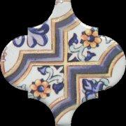Арабески Майолика Декор орнамент OP\\A161\\65000 6,5x6,5