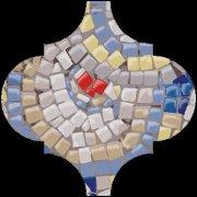 Арабески Майолика Декор Гауди OP\\A169\\65000 6,5x6,5