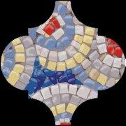 Арабески Майолика Гауди Декор OP\\A172\\65000 6,5x6,5