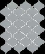 Арабески глянцевый серый 65012 26x30