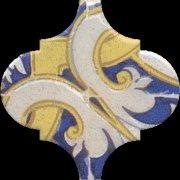 Арабески Майолика Декор орнамент OP\\A160\\65000 6,5x6,5