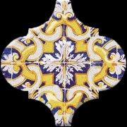 Арабески Майолика Декор орнамент OP\\A159\\65000 6,5x6,5