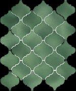 Арабески Майолика зеленый 65008 26x30