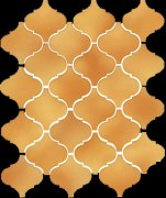 Арабески Майолика желтый 65009 26x30